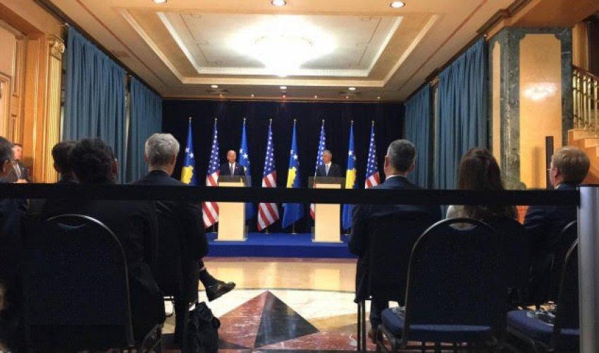 Biden message in Pristina: Fight corruption and organized crime