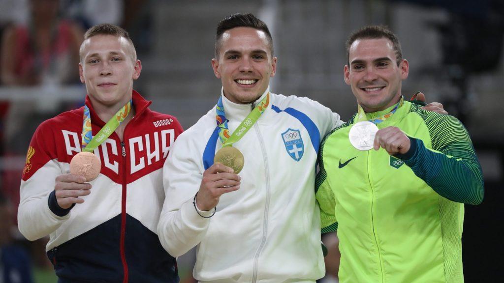 Petrounias wins gold medal in men's rings (Update)