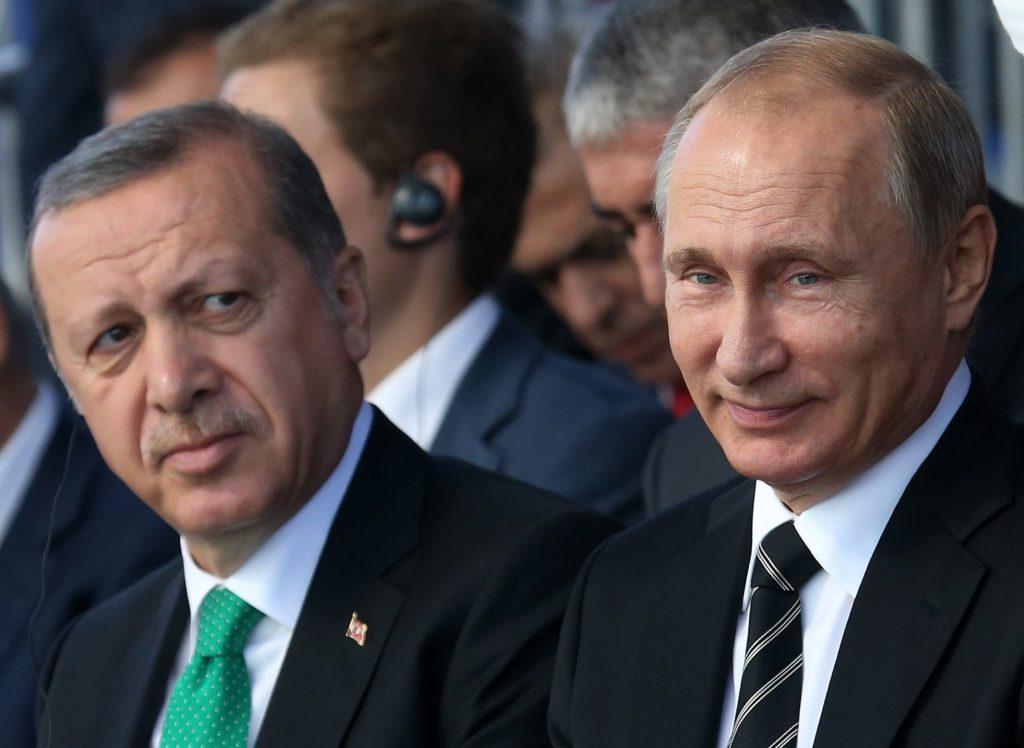 Pressure from EU brings Erdogan-Putin closer