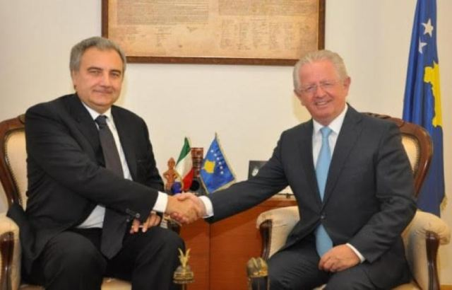 Kosovo's Interior Minister Hyseni demands support from Italy for the country's accession in the Interpol