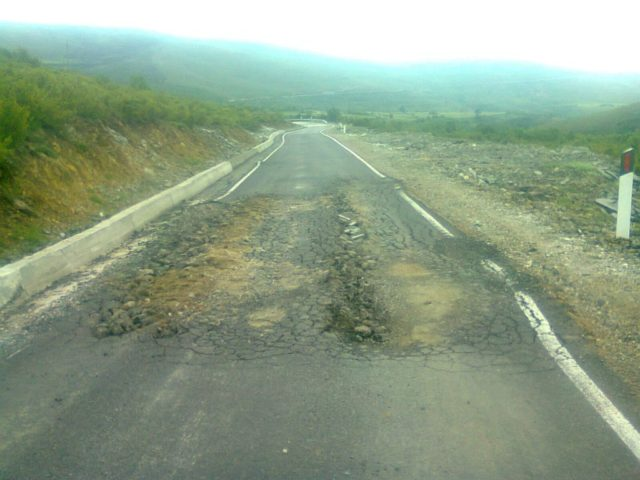 World Bank Report: Construction of roads in Albania without any quality