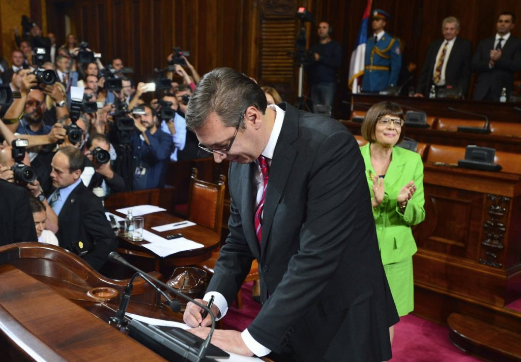 Vucic has formed his second cabinet