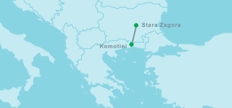 Processes continue on the Greek-Bulgarian IGB pipeline