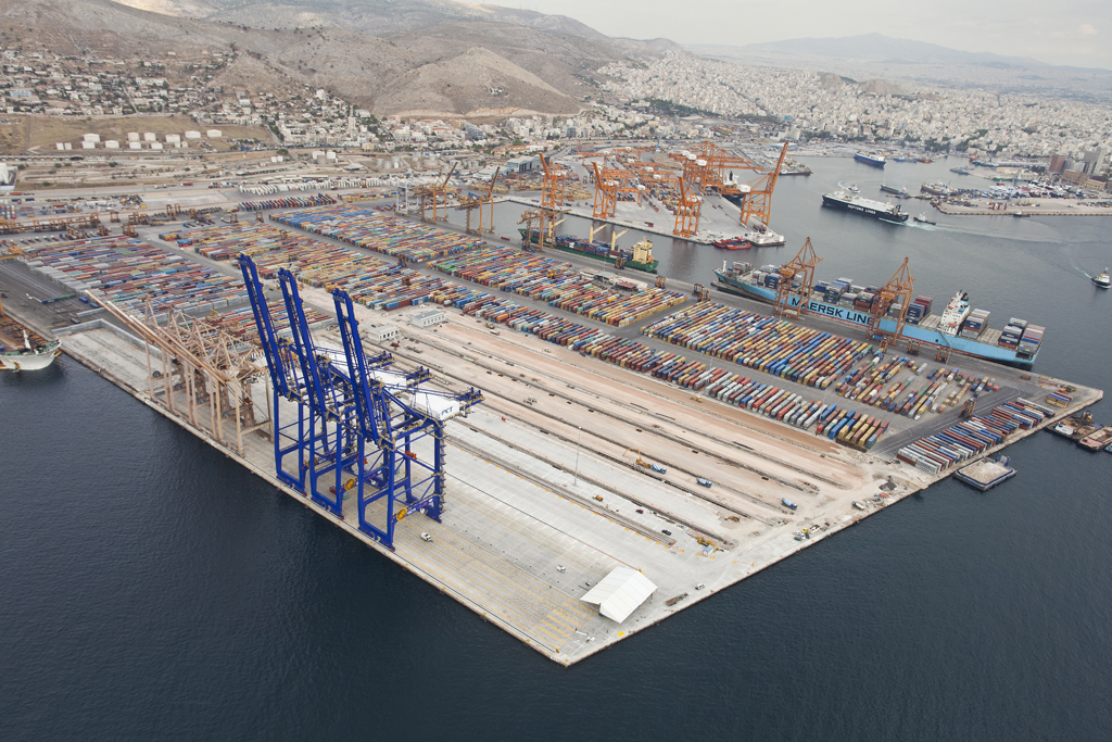 COSCO says aims to turn Piraeus port into one of Europe's largest container hubs