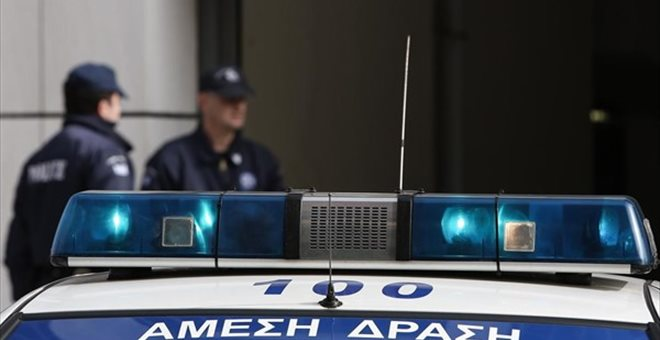 Robbery with hostages in a Piraeus bank brach in Athens