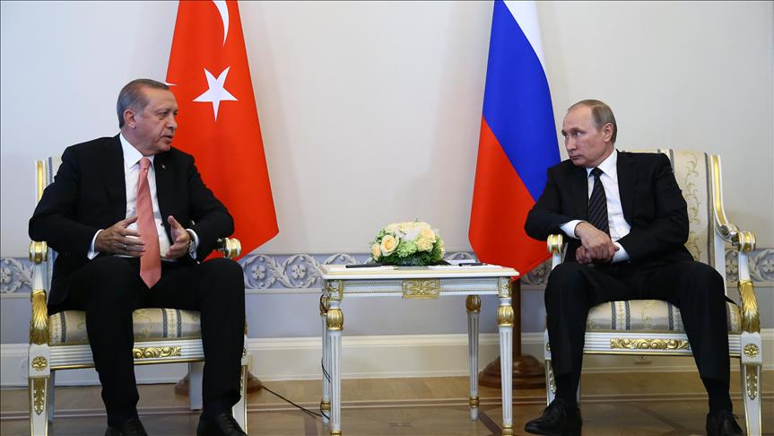 Russia against all coup bids, Putin tells Erdogan