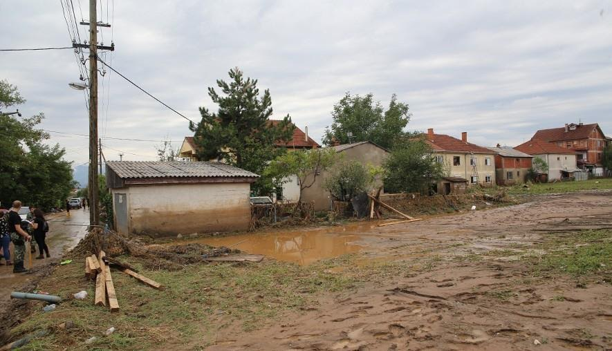 Critical situation in Skopje's flooded areas