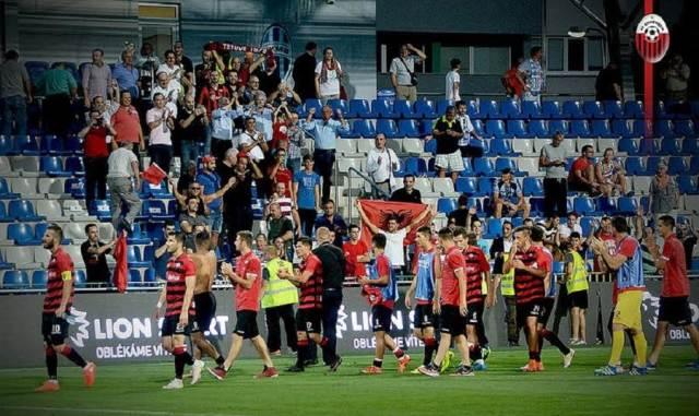 Europa League, Shkendija in the play off