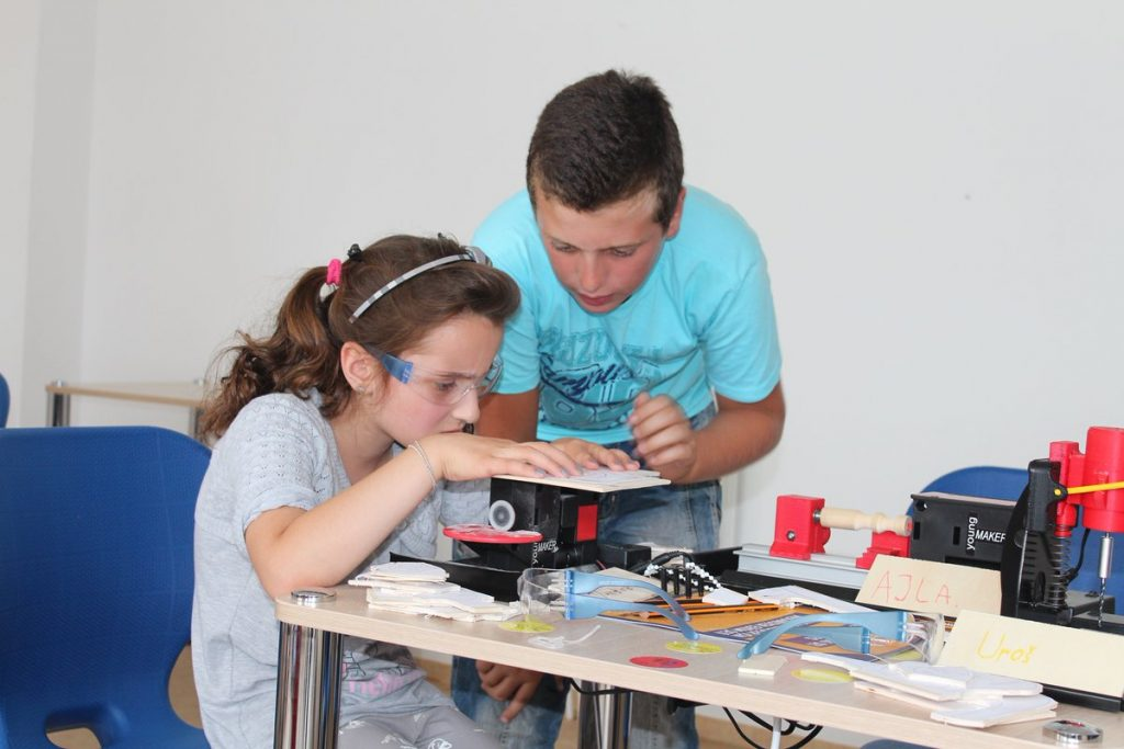 International organizations support kids in BiH