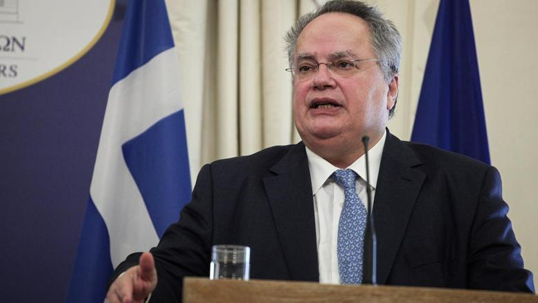 Kotzias: Abolition of guarantees, withdrawal of occupation army in Cyprus central in resolving issue