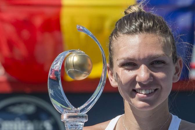 Simona Halep wins Rogers Cup, beating Madison Keys
