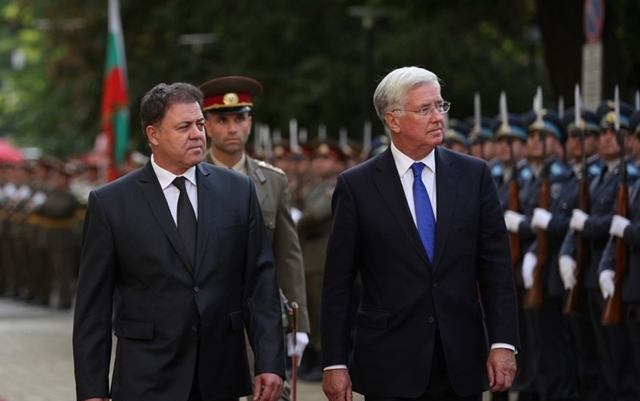 UK to deepen defence relationship with Bulgaria to help tackle security threats in SEE