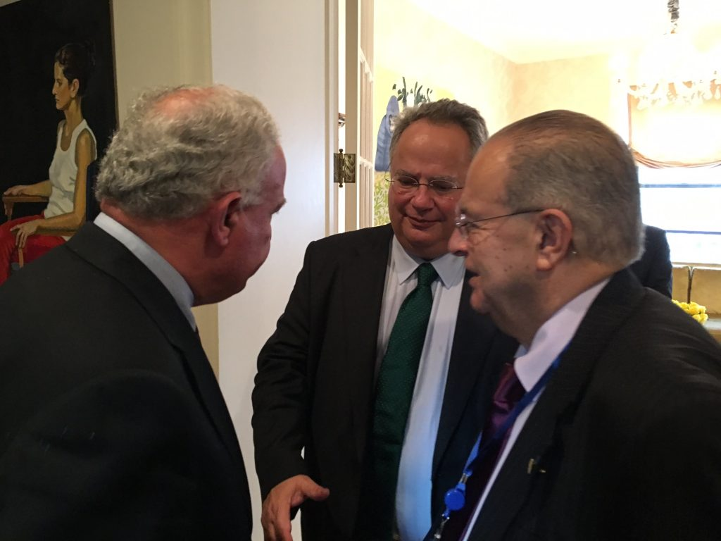 Nikos Kotzias completes fruitful contacts in the US