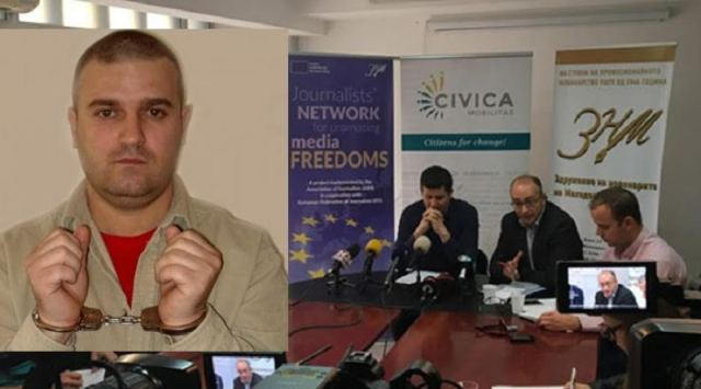 European Association of Journalists criticizes authorities in Skopje concerning Bozinovski's case