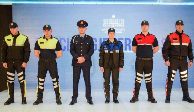 A scandal with state police uniforms in Albania