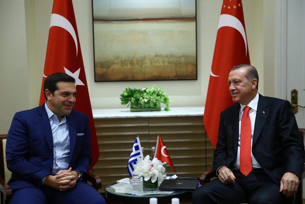 Erdogan – Tsipras hold meeting in New York