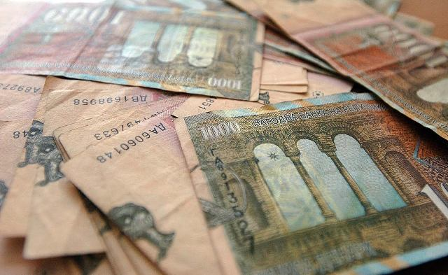 Average salary in FYROM over 380 euros