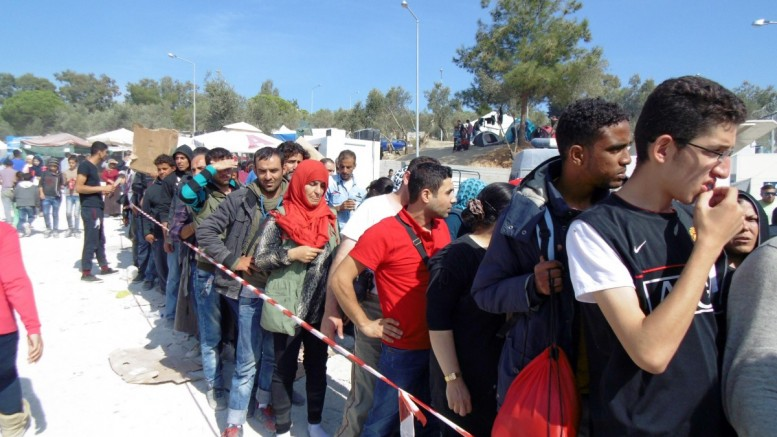 A new wave of refugees may be heading toward FYROM