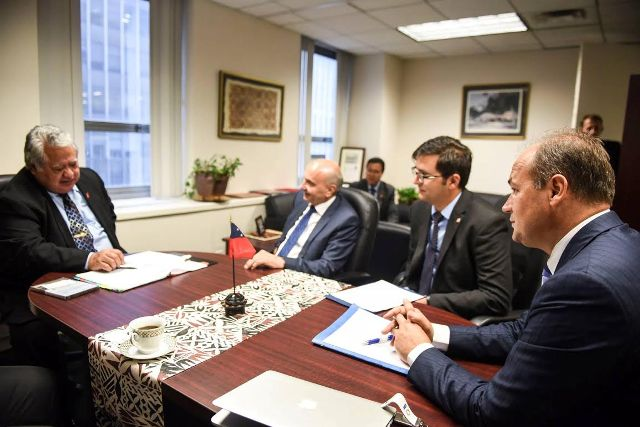 Kosovo's Foreign Minister Hoxhaj lobbies for Kosovo's recognition in New York