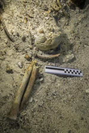 Skeleton discovered at famous Antikythera Shipwreck