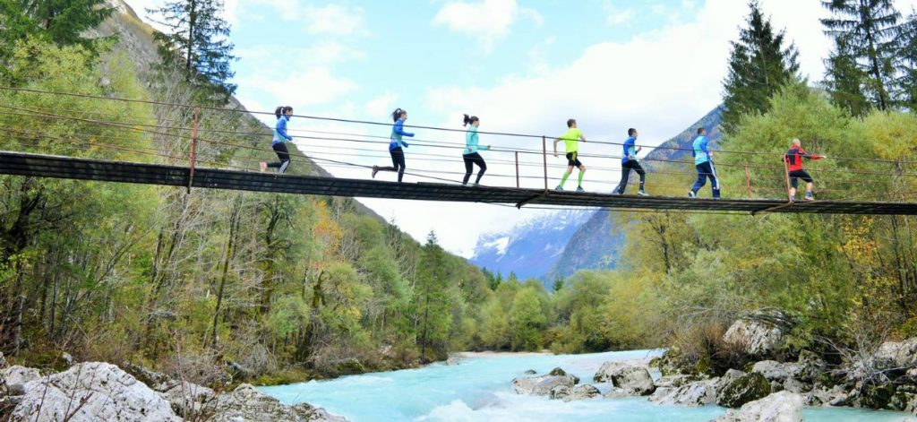 Beautiful Soča river invites for Bovec Marathon