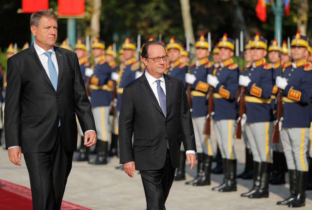 Iohannis: Relation with France – priority to Romania; Hollande: Partnership must be strengthened