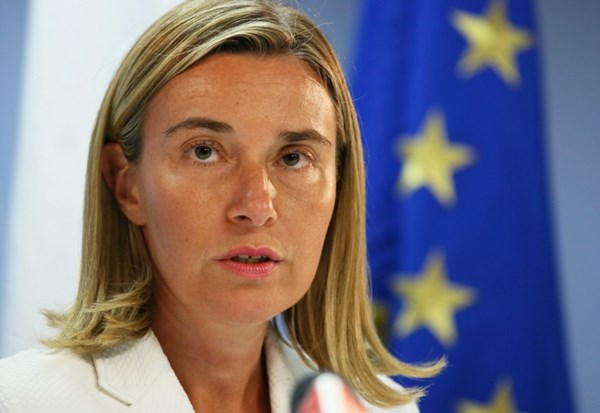Mogherini: EU and Turkey have a common interest in seeing the Cyprus issue solved