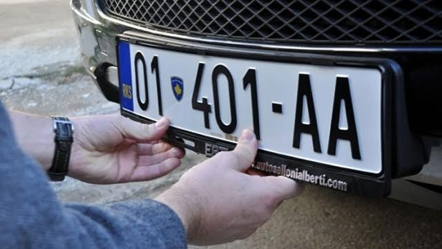 Accord reached in Brussels over Kosovo's registration plates