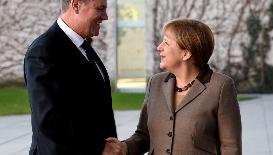 President Klaus Iohannis to meet Angela Merkel in Berlin on Friday