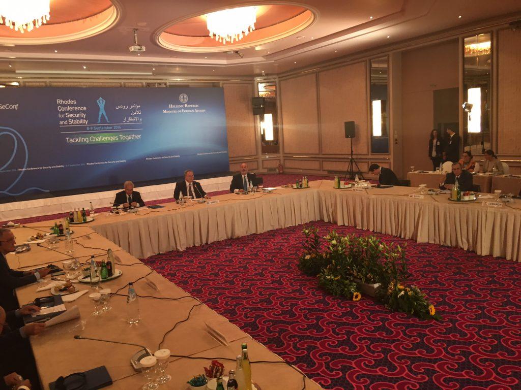Kotzias: Peace requires stability