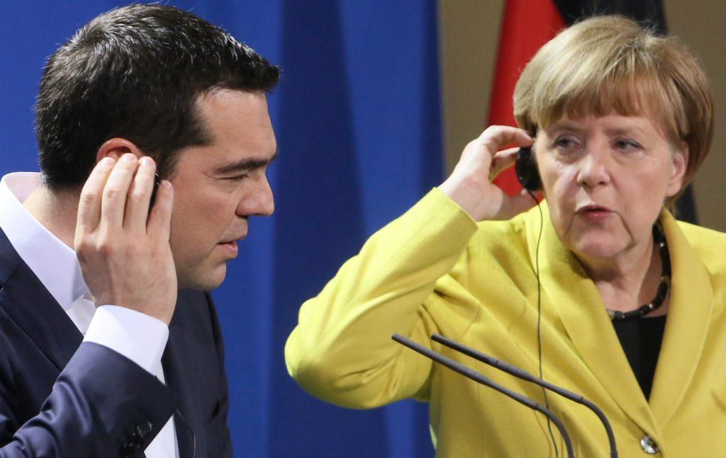 Merkel – Tsipras to have telephone conversation before the Bratislava Summit