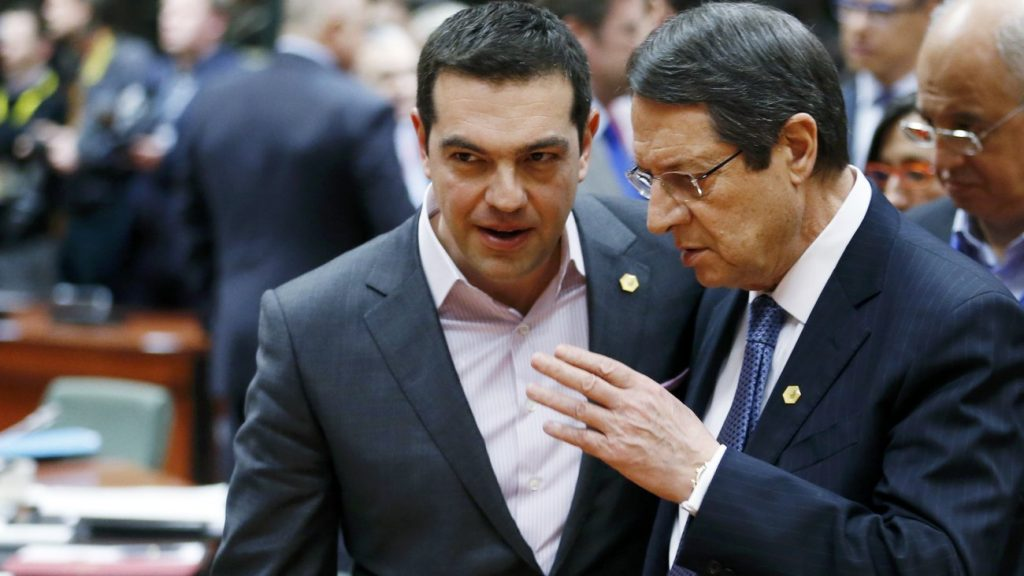 Tsipras – Anastasiades have dinner with Cyprus issue and regional cooperations on the main menu