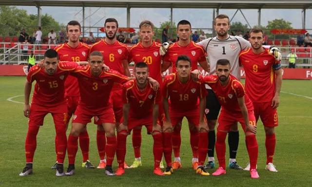 FYROM's U-21 football team on the verge of qualification for the Euro 2017