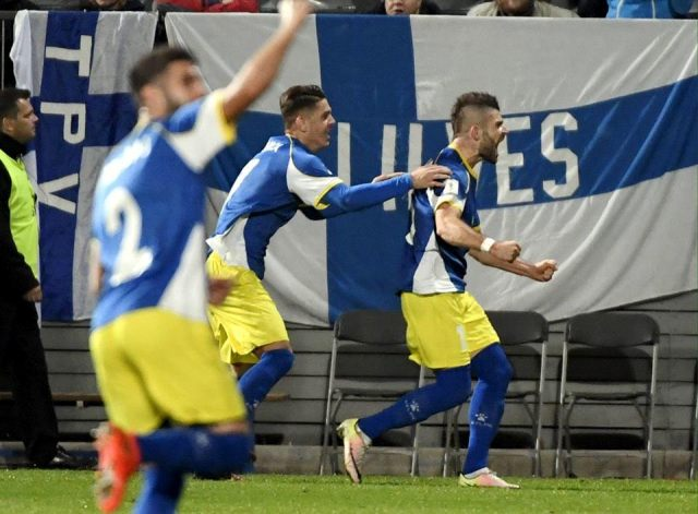 Kosovo equalizes against Finland in its first ever official match