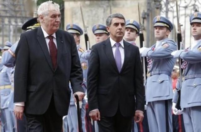 Plevneliev meets Zeman: Czech Republic to assist Bulgaria to guard EU external border