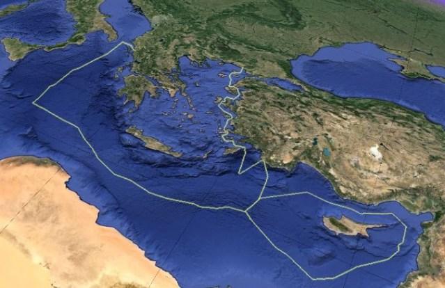 Al-Shorouk: Demarcation of Greece – Egypt's maritime borders