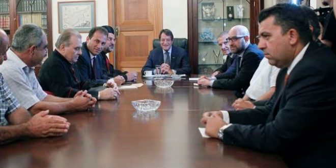 President and energy companies discuss developments in exploitation of Aphrodite gas field