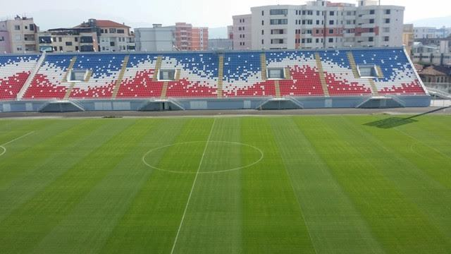 The new stadium inaugurated with a draw between Albania and Morocco