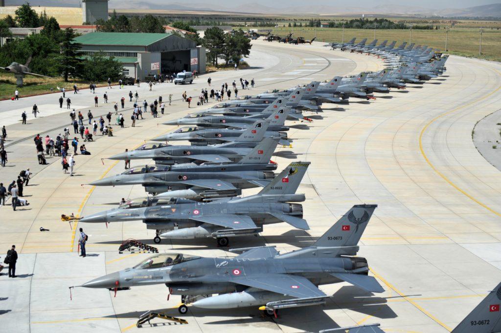 Turkish Airforce has more aircrafts than pilots
