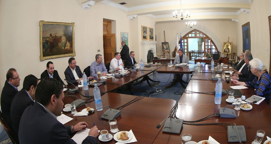 President Anastasiades briefs National Council on developments in Cyprus peace talks