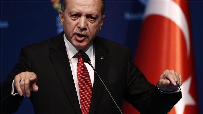 Erdogan spoke about the borders of his heart
