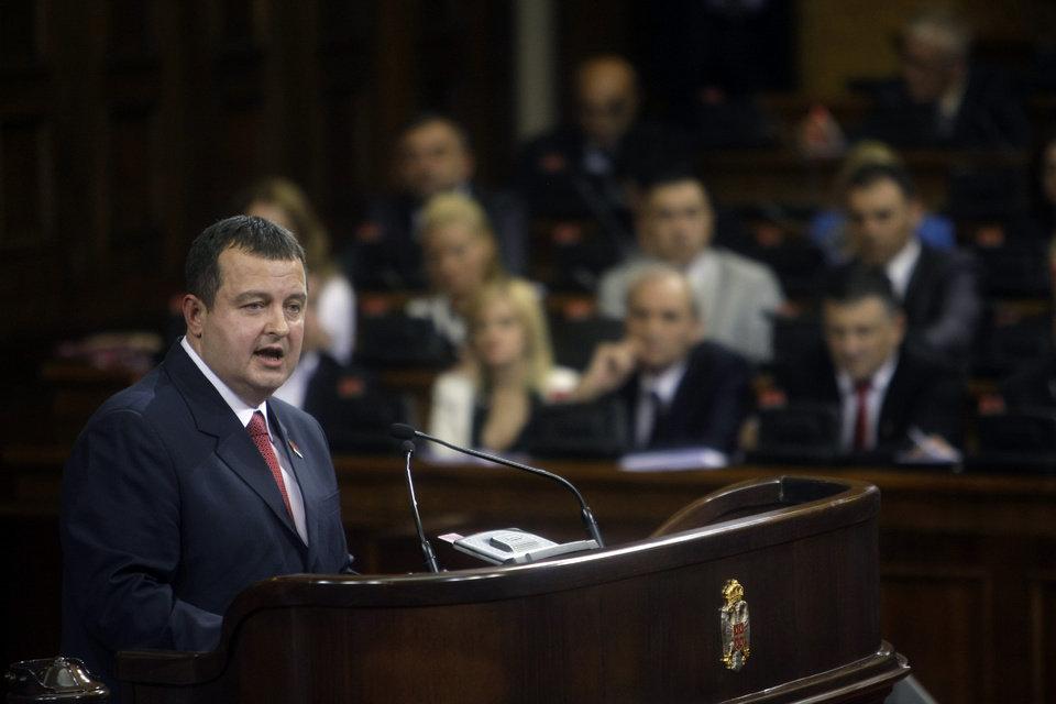 "Dacic dismisses Pristina's demands as ""wish list"""