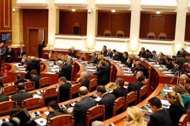 Investigation  of criminal records by the Albanian parliament
