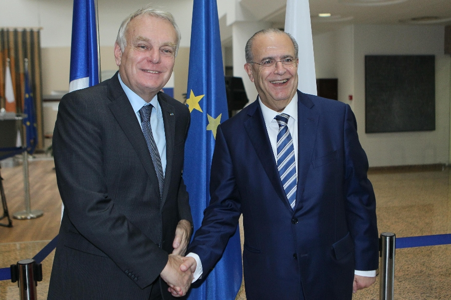 FM Kasoulides met with French counterpart Ayrault
