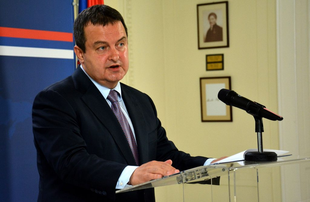 """Dacic: """"Better not to open chapters than undermine our interests"""""""