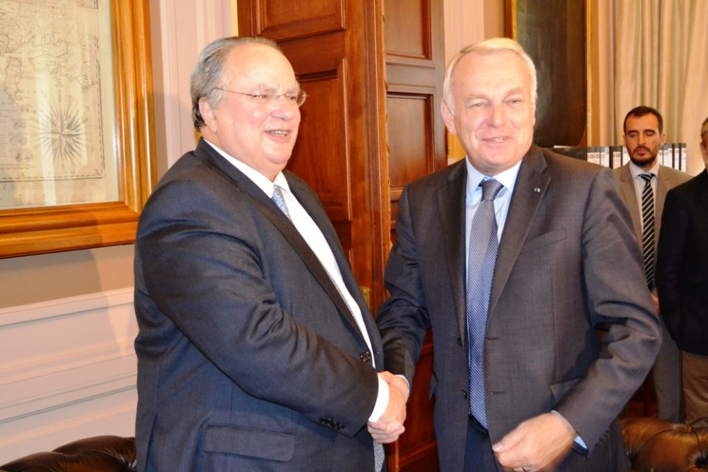 Ayrault: France will back a swift solution for Greece's debt in the EU