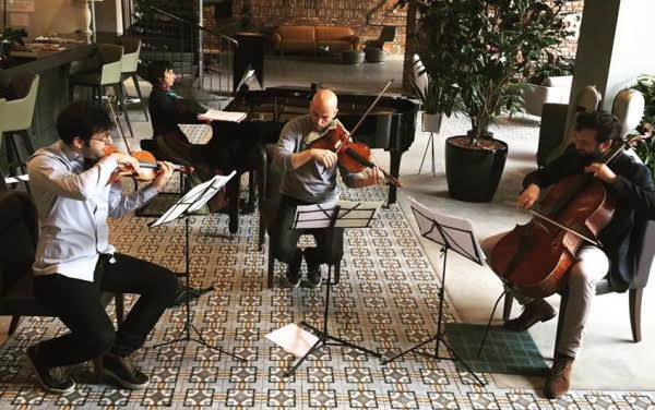 Balkan artists joined together for a concert in pristine