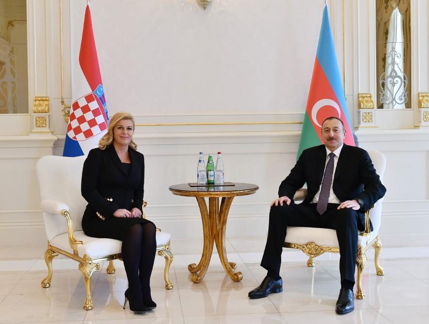 Presidents advocate enhancement of Azerbaijan-Croatia ties