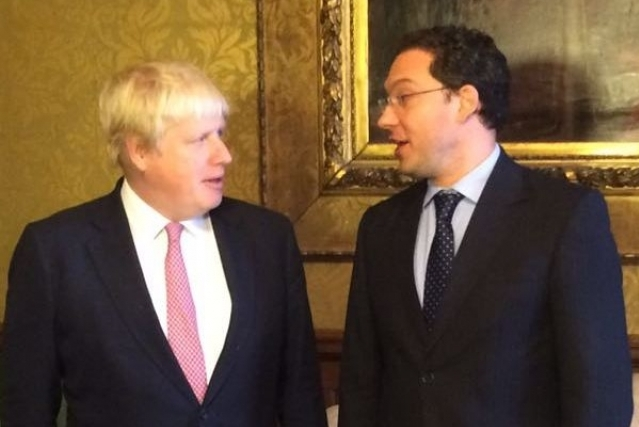 Mitov meets Boris Johnson: 'Essential to guarantee rights of Bulgarian citizens who live and work in the UK'
