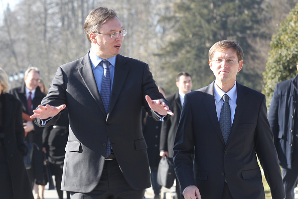 Slovenian and Serbian governments convene joint session